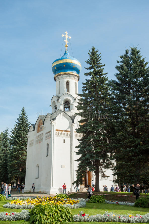 Temple d'esprit du St Sergius Lavra, Russie de trinité sainte image stock