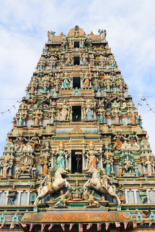 Temple d'hindouisme photographie stock libre de droits