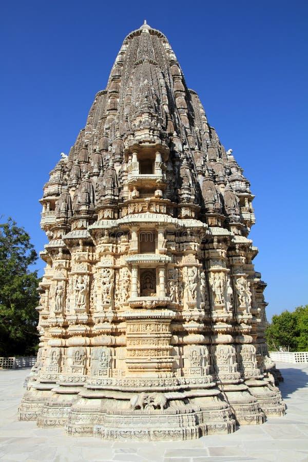 Temple d'hindouisme de Ranakpur en Inde photo libre de droits