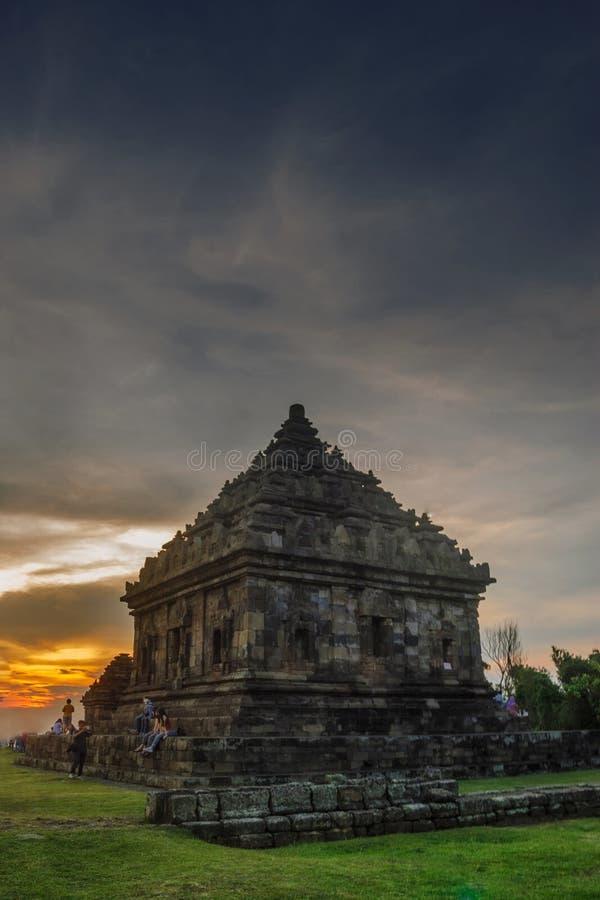 Temple d'OIJ image libre de droits