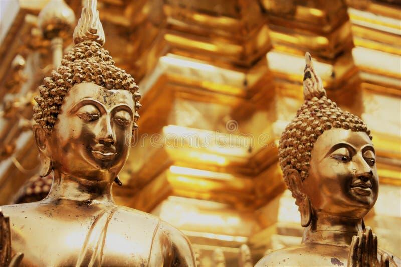 Temple d'or, Thaïlande image stock