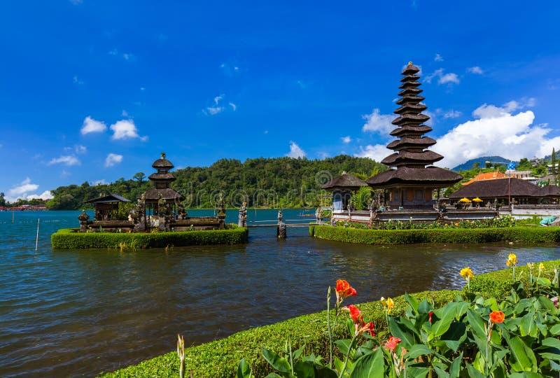 Temple d'Ulun Danu - île Indonésie de Bali image stock