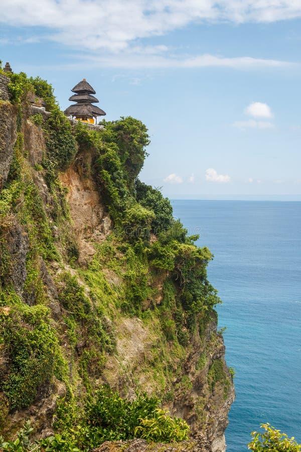 Temple d'Uluwatu sur les sud de l'île de Bali photo libre de droits