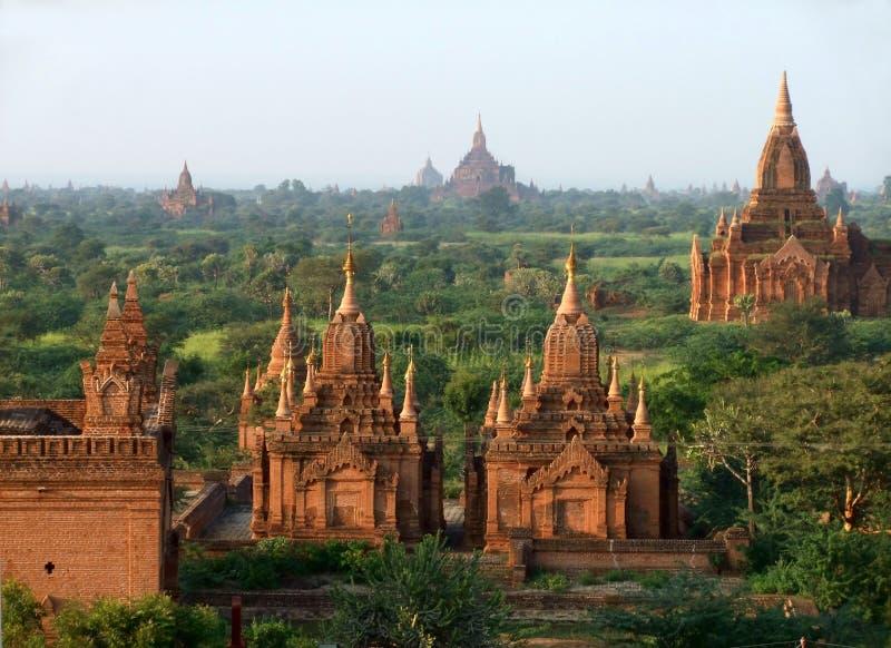 Temple dans Bagan, Myanmar image libre de droits