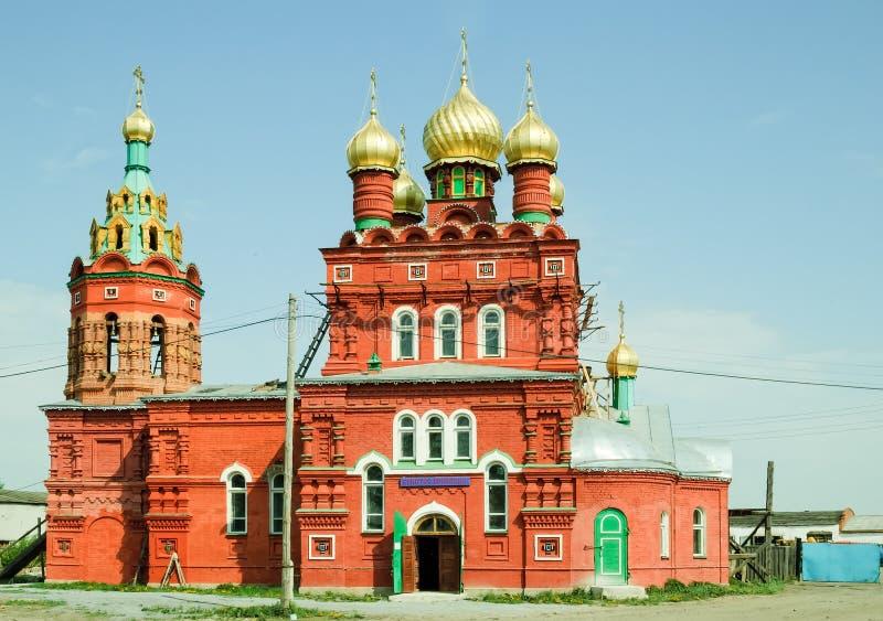 Download Temple Dans L'intéret Du Saint Nikolay Chudotvorts Photo stock - Image du histoire, architecture: 87709426