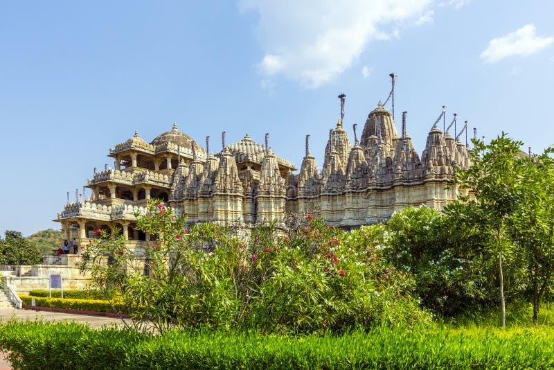 Temple dans Ranakpur, Inde photos libres de droits