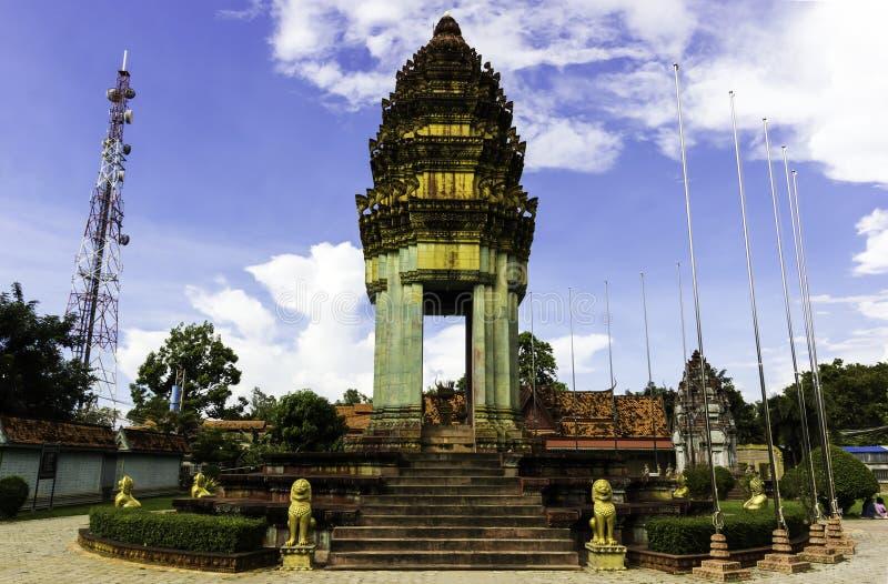 Temple dans Siem Reap, Cambodge images libres de droits