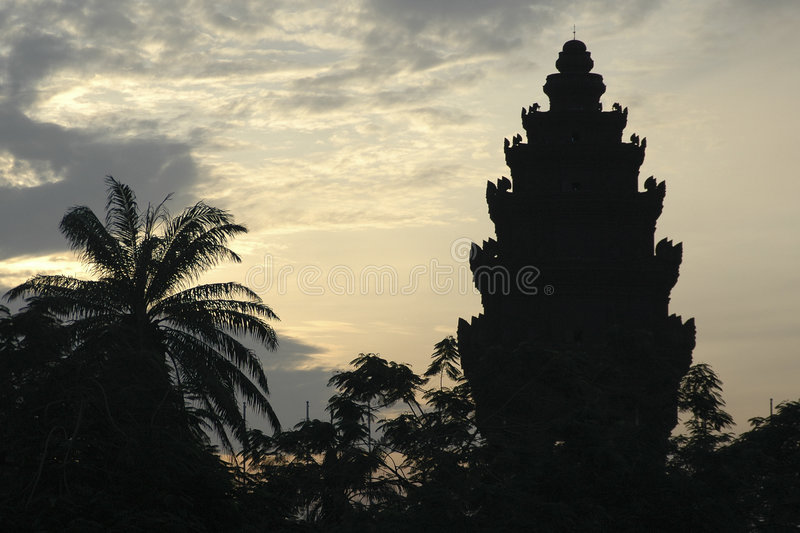 Download Temple at dawn stock photo. Image of asia, dawn, khymer - 72760