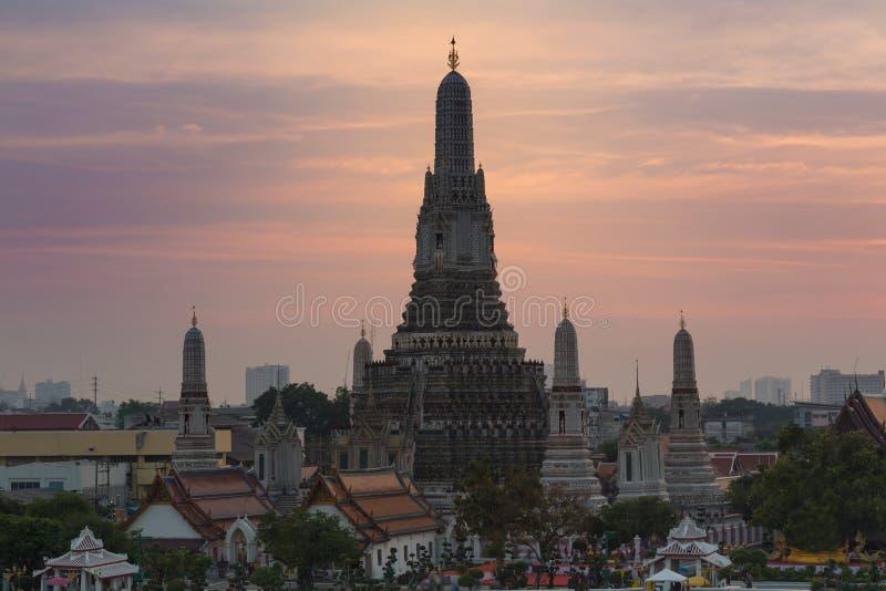 Temple of Dawn oder Wat Arun lizenzfreie stockfotos