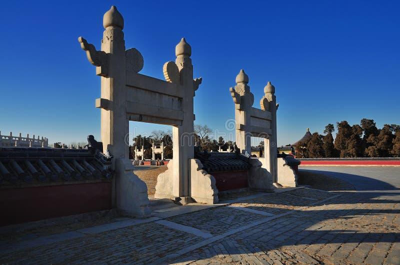 Temple de ¼ Chine de Beijingï de ¼ d'ï de ciel images libres de droits