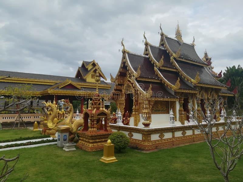 Temple de ‹de Sangkaew†en Thaïlande photographie stock libre de droits