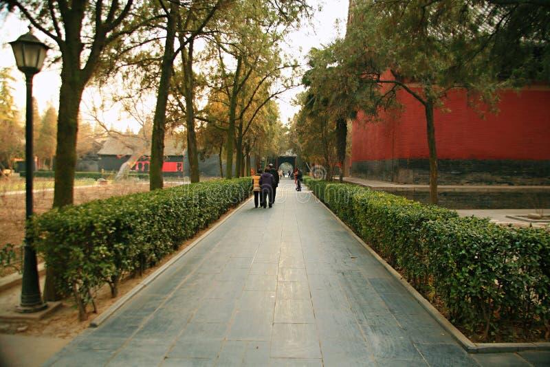 Temple de Baima à Luoyang image libre de droits
