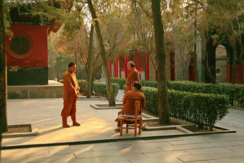 Temple de Baima à Luoyang images libres de droits