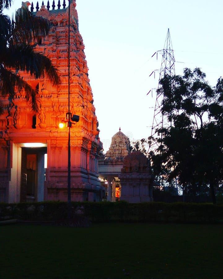 Temple de Balaji photographie stock libre de droits
