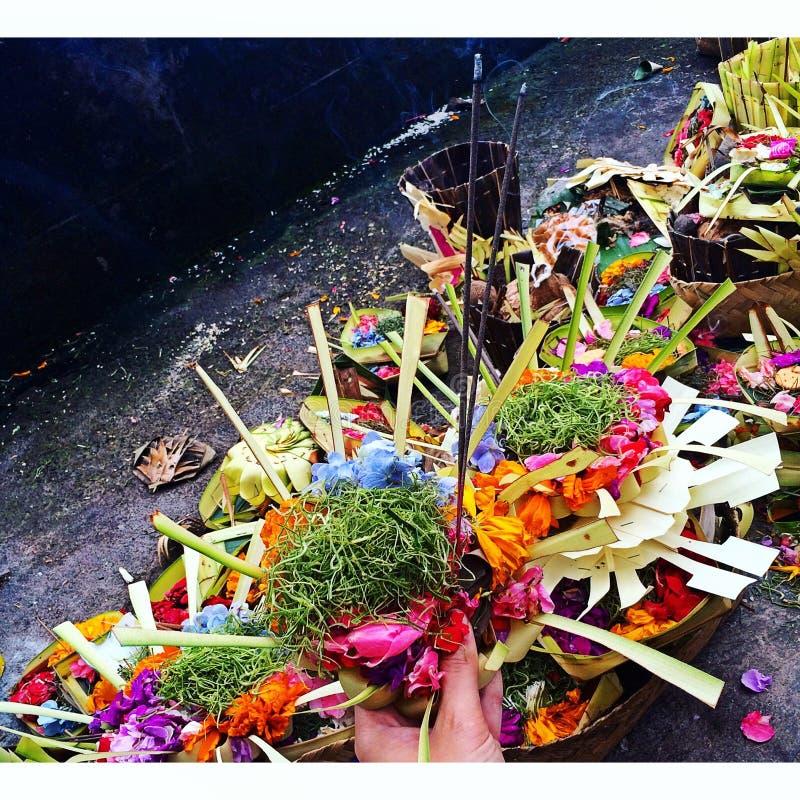 Temple de Balinese images libres de droits