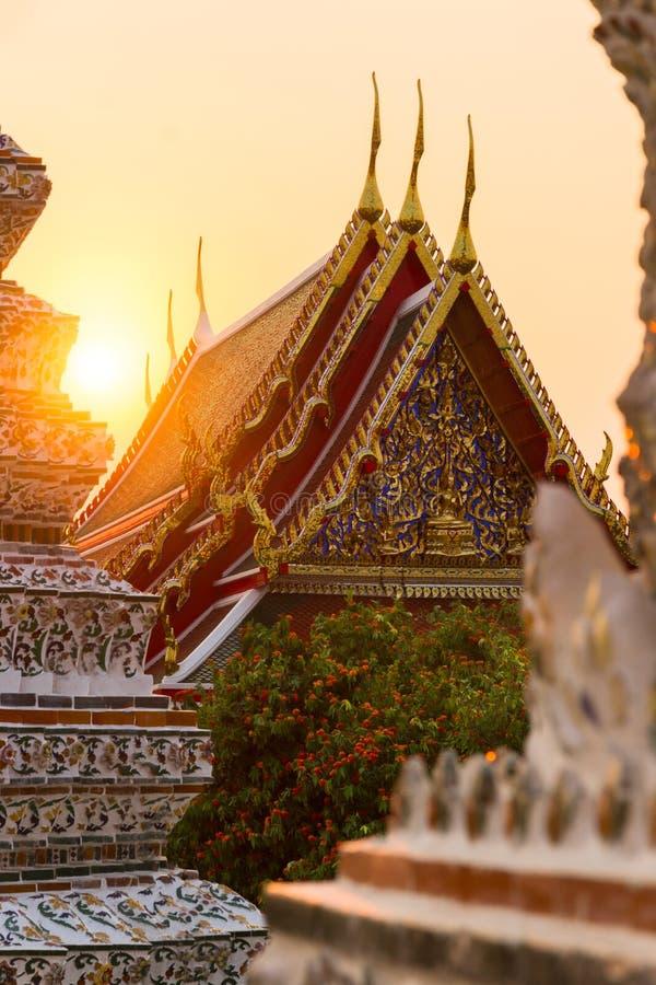 Temple de Bangkok image stock
