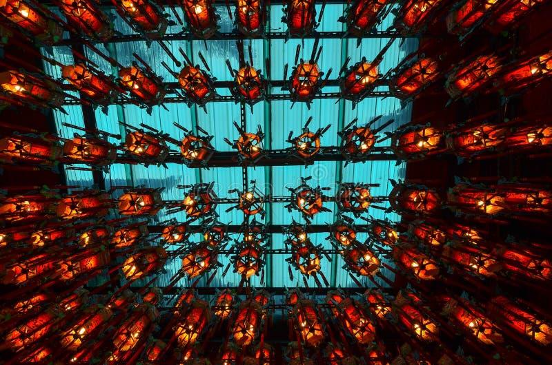 Temple de Baoan, Taïpeh photographie stock libre de droits