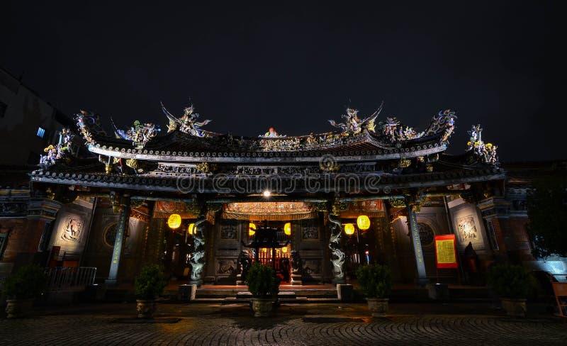 Temple de Baoan, Taïpeh photographie stock