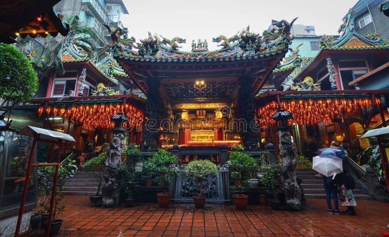 Temple de Baoan, Taïpeh, Taïwan photographie stock