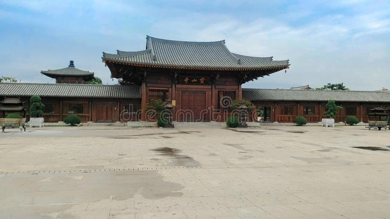 Temple de Baoshan photographie stock