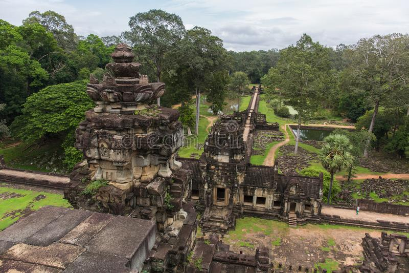 Temple de Baphuon dans l'Angkor Thome photos stock