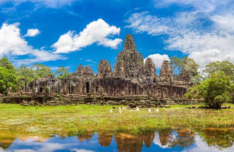 Temple de Bayon, Cambodge photos stock