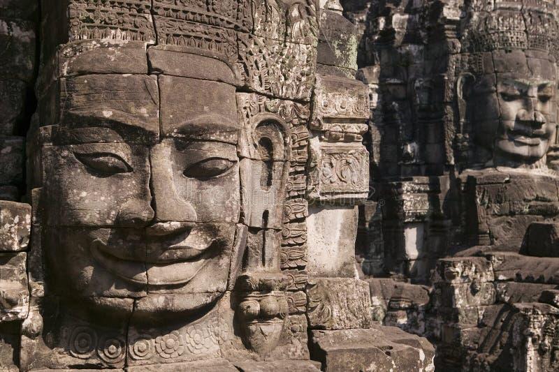 Temple de Bayon dans Siem Reap image stock