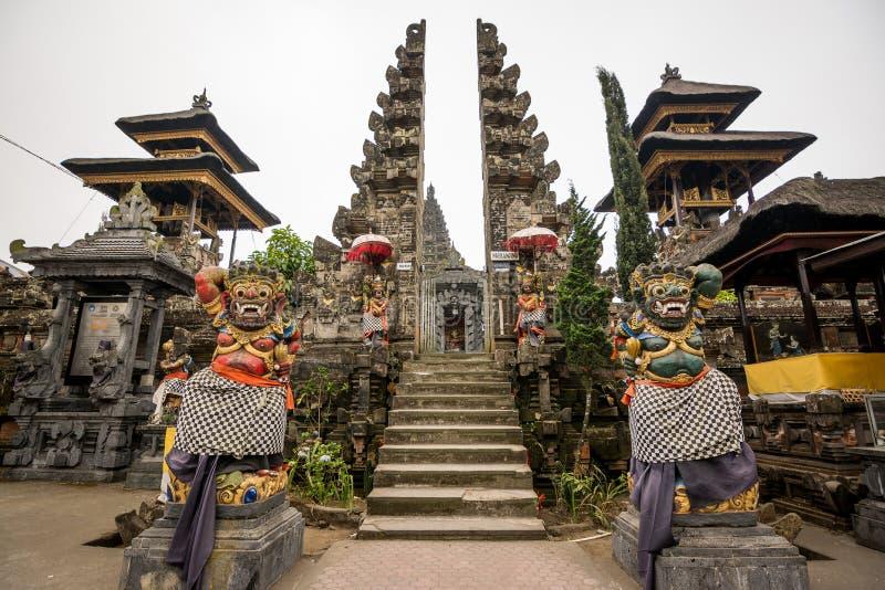 Temple de Besakih, Bali photos stock