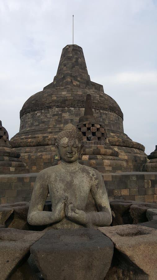 Temple de Borobodur image libre de droits