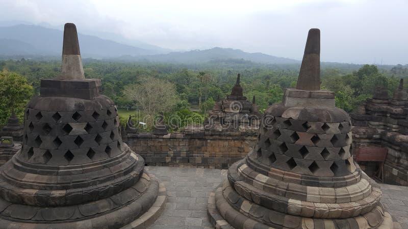 Temple de Borobodur images libres de droits