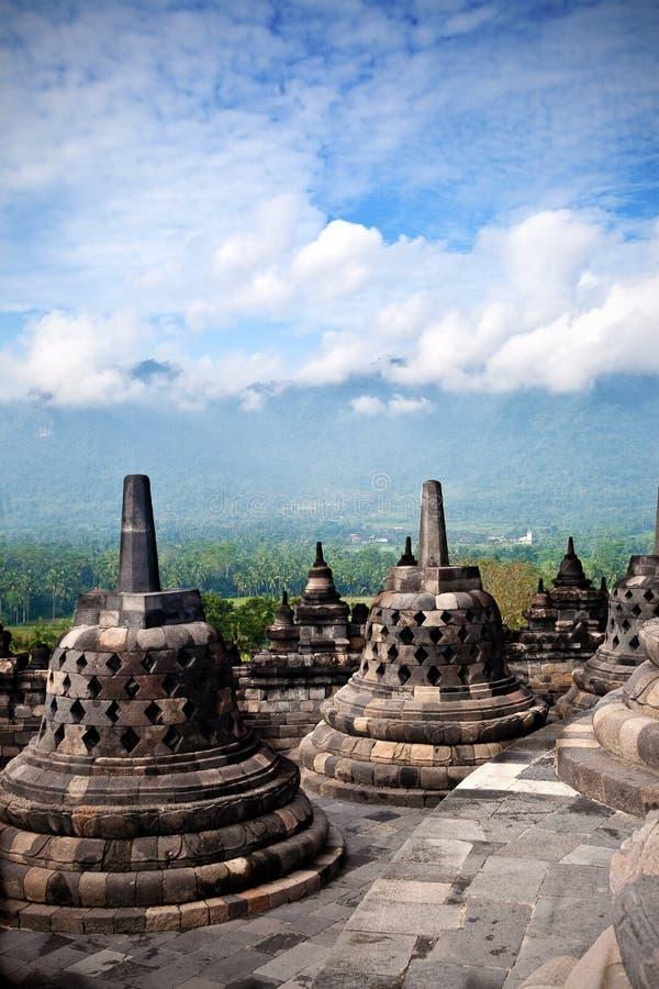 Temple de Borobudur à Jogjakarta photos stock