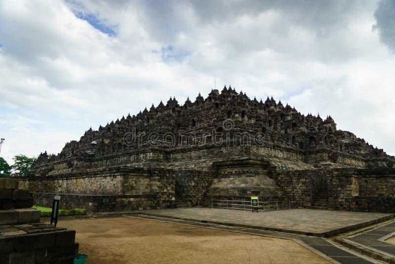 Temple de Borobudur à Yogyakarta, Java, Indonésie images stock