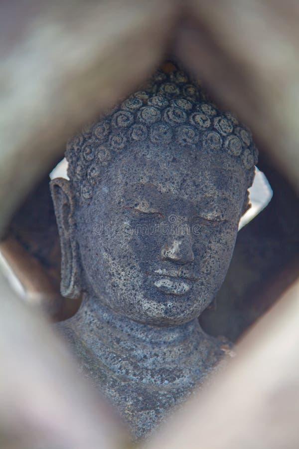 Temple de Borobudur en Indonésie image libre de droits