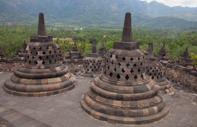 Temple de Borobudur en Indonésie photo libre de droits