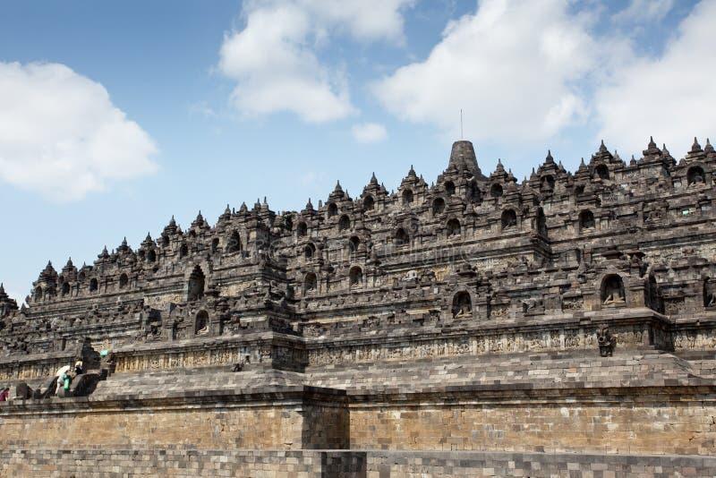 Temple de Borobudur - Indonésie images stock