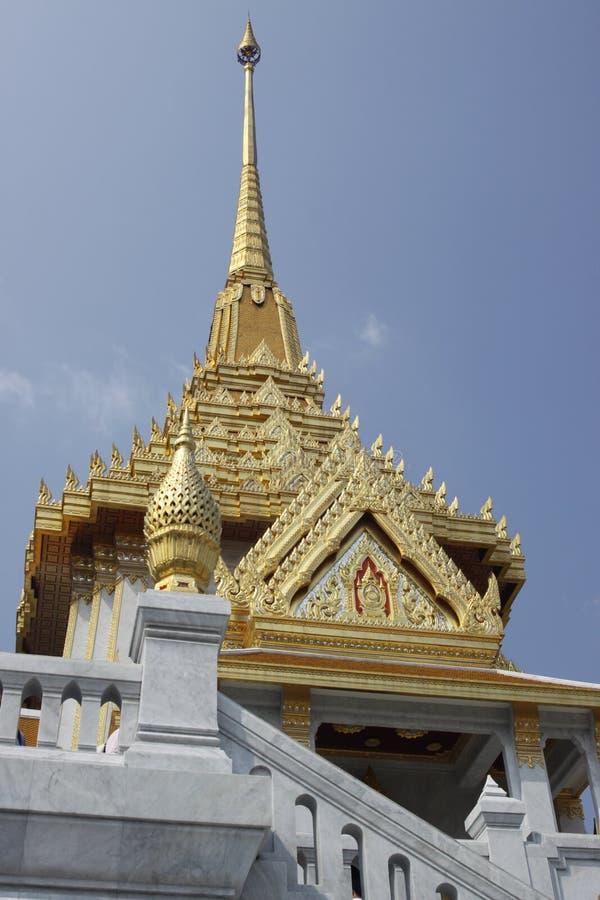 Temple de Bouddha d'or à Bangkok photos libres de droits