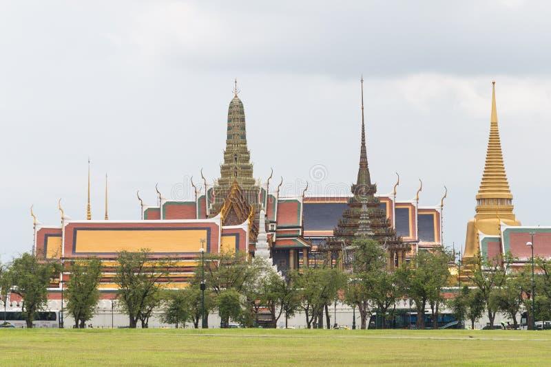 Temple de Bouddha vert images libres de droits