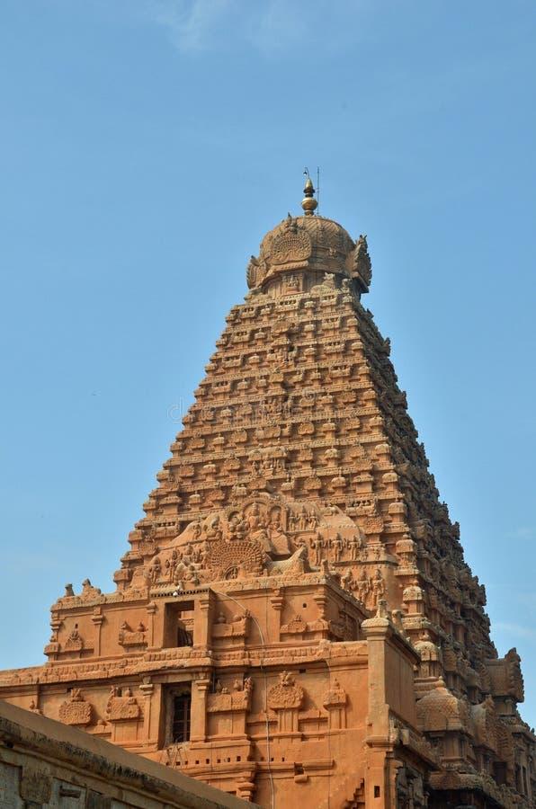 Temple de Brihadeeswara, Thanjavur image stock
