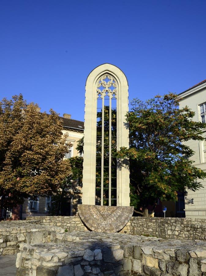 Temple de Budapest Mary Magdalene images libres de droits