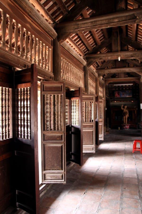 Temple de cadre de porte images stock