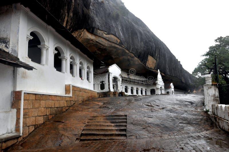 Temple de caverne photographie stock