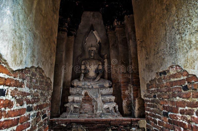 Temple de Chaiwatthanaram à Ayutthaya, Thaïlande images libres de droits