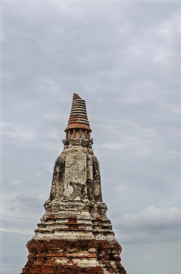 Temple de Chaiwatthanaram à Ayutthaya, Thaïlande photos libres de droits