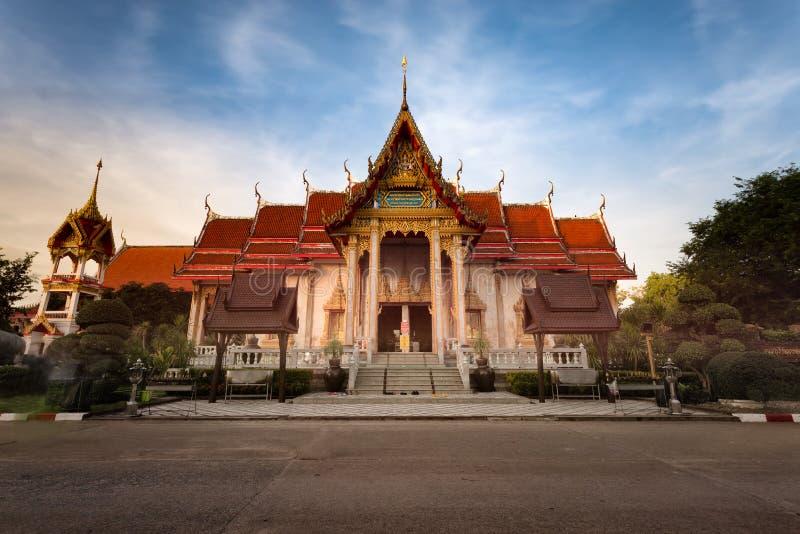 Temple de Chalong à Phuket Thaïlande photographie stock