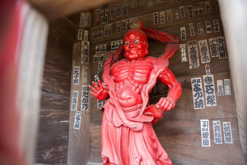 temple de Chiba image stock