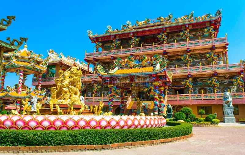 Temple de Chinois de Najasaataichue photos libres de droits