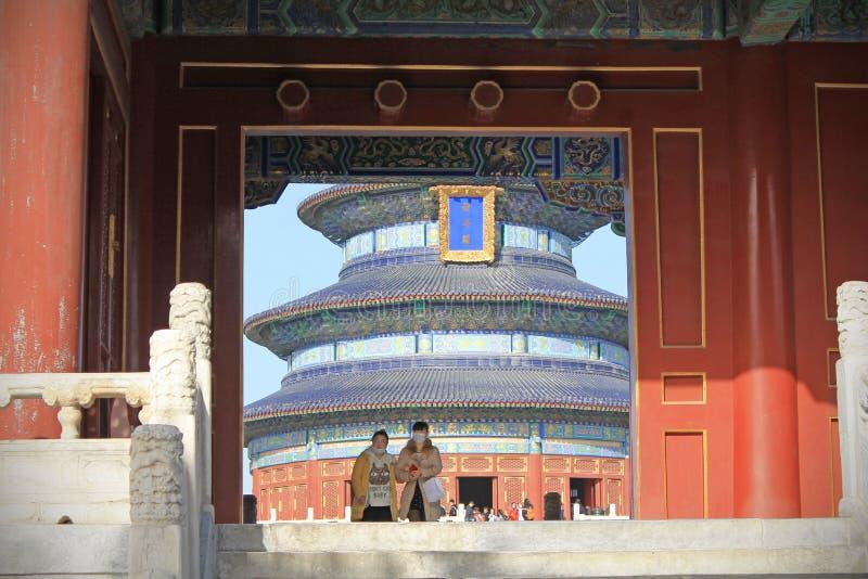 Temple de ciel, P?kin, Chine photo stock