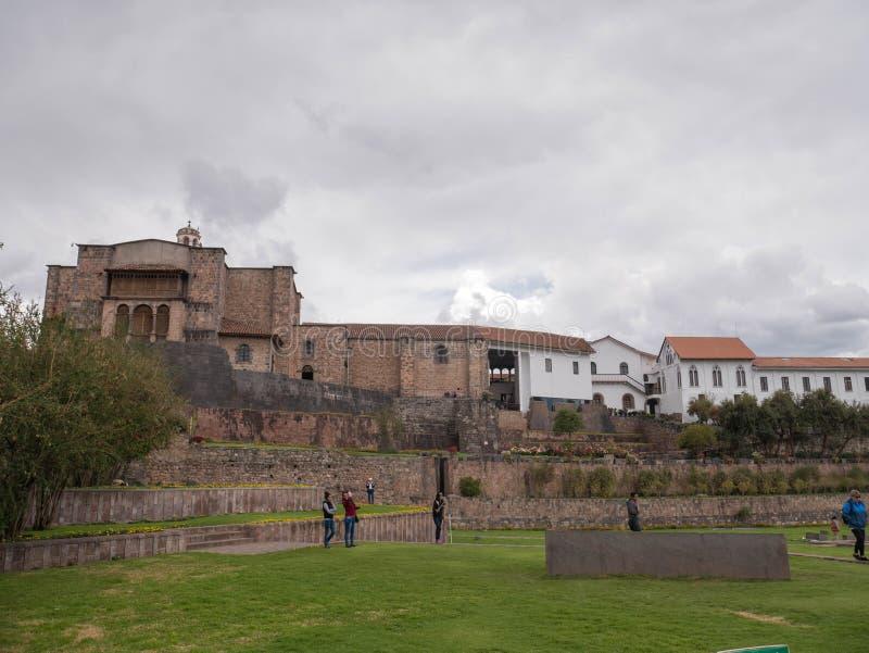 Temple de Coricancha photographie stock libre de droits