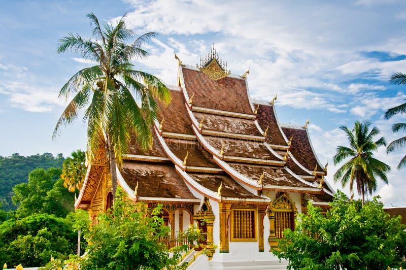 Temple de coup de Pha de Haw, Laos images libres de droits