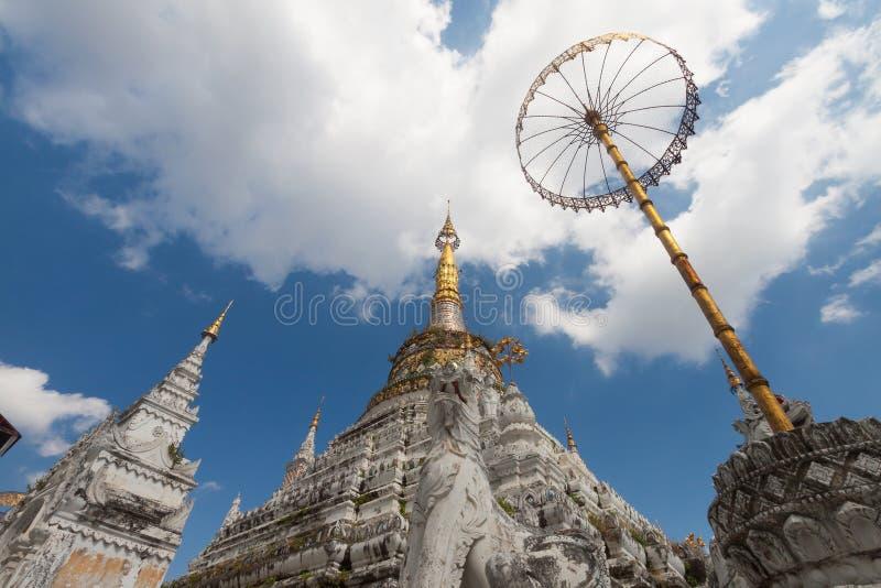 Temple de croc de Saen en Chiang Mai, Thaïlande photos stock